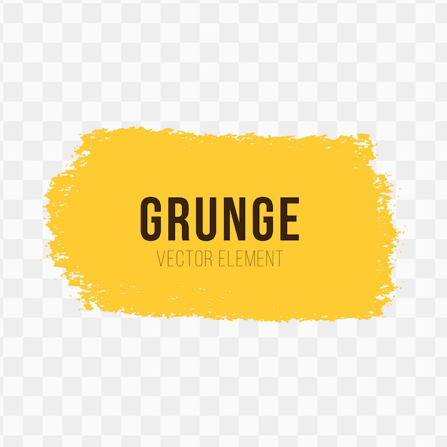 Grunge vectorelement Gratis Vector