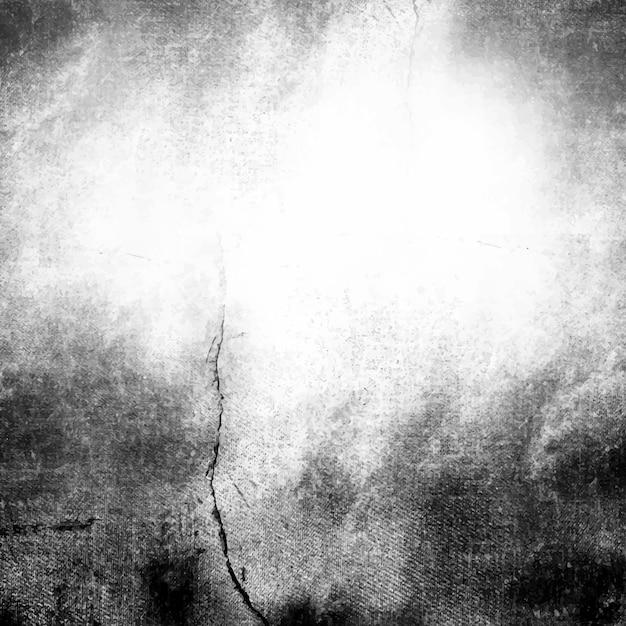 Grunge zwart en wit verontruste gestructureerde achtergrond Gratis Vector