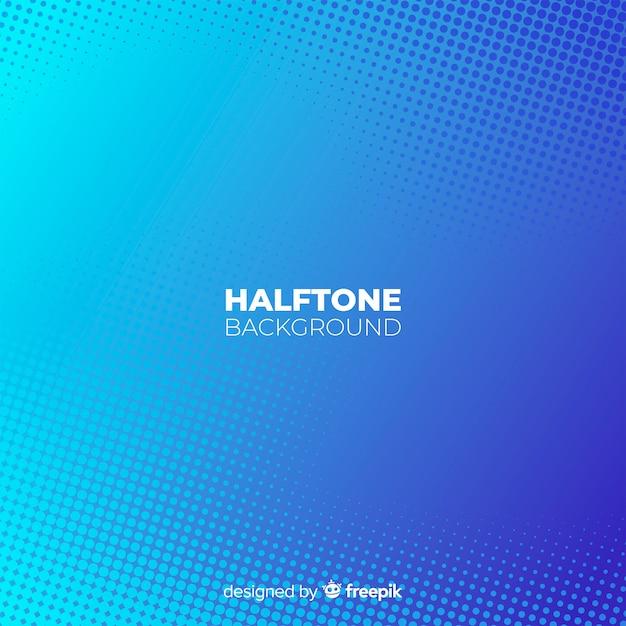 Halftone achtergrond Gratis Vector