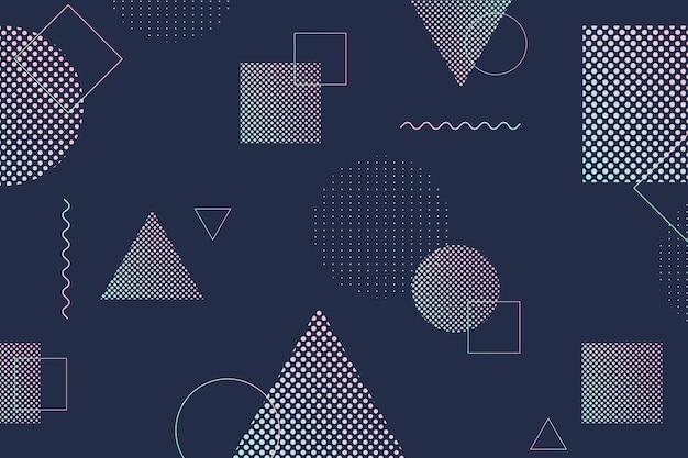 Halftone gradient achtergrond Gratis Vector