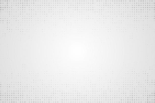 Halftone witte achtergrond Premium Vector