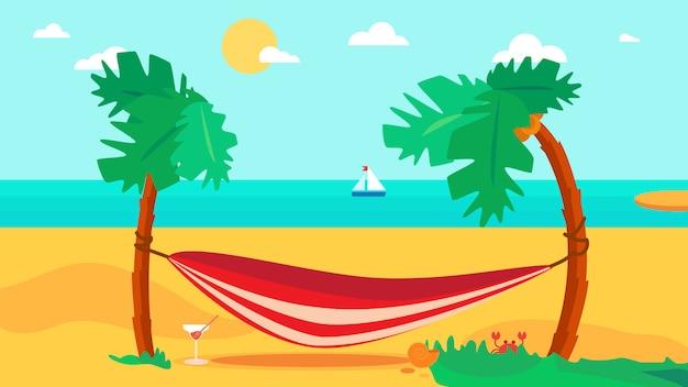 Hallo zomerconcept Premium Vector
