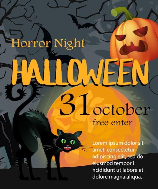 Halloween 30 Oktober.Halloween 30 Oktober Eerste Letters Met Maan Pompoen