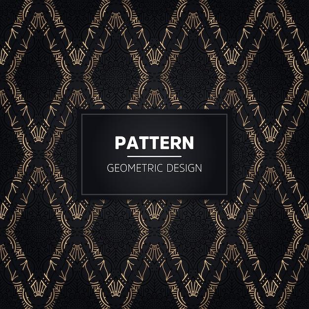 Hand getekend naadloze patroon. vintage decoratieve elementen. Premium Vector