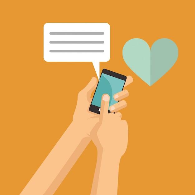 liefde mobiele telefoon dating