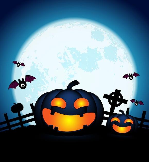 Dag Halloween.Happy Halloween Dag Achtergrond Vector Premium Download