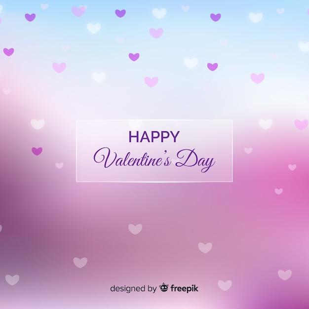 Happy valentijnsdag achtergrond Gratis Vector