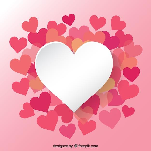 Hearts collectie Gratis Vector