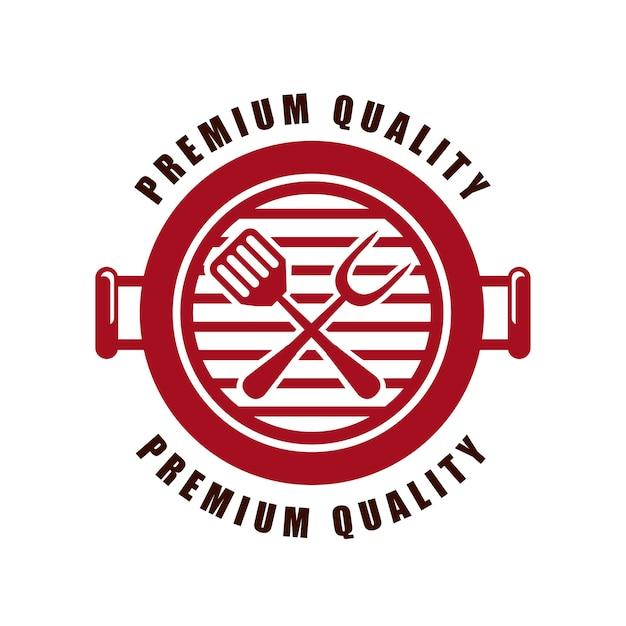 Heerlijk barbecueontwerp Premium Vector