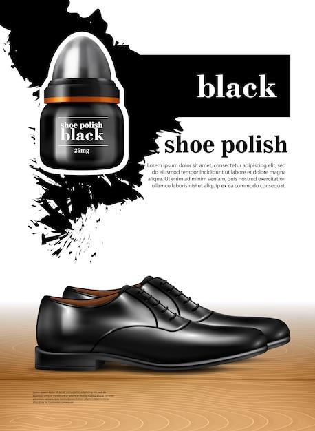 Heren schoenen realistische set Gratis Vector