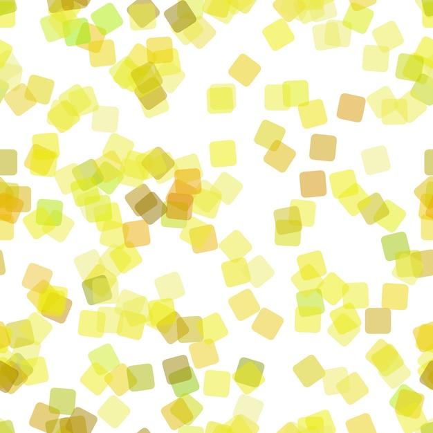 Herhaling abstracte geometrische vierkante patroon achtergrond - vector illustratie van willekeurige roterende vierkanten met opaciteit effect Gratis Vector