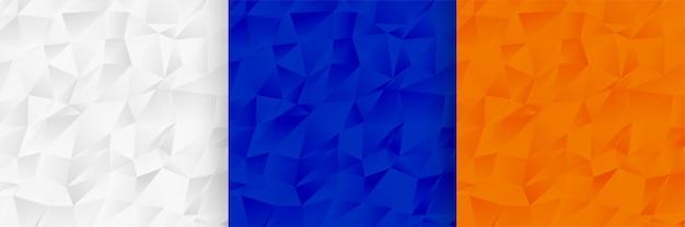 Het abstracte laag poly vastgestelde ontwerp van de patroontextuur Gratis Vector