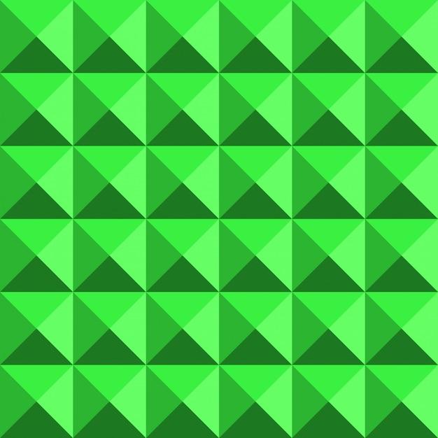 Het groene 3d naadloze patroon van de structuur abstracte jaren '80 Premium Vector