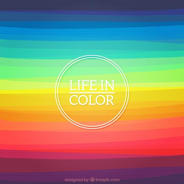 Regenboog lijnen vectoren foto 39 s en psd bestanden gratis download - Kleur idee voor het leven ...