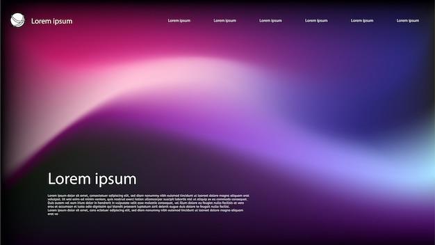 Holografische abstracte achtergrond Premium Vector