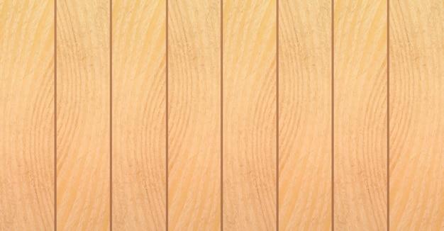 Houten textuurachtergrond. houten planken in plat ontwerp. Premium Vector