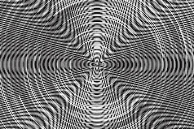 Hypnotische spiraal abstracte achtergrond Premium Vector
