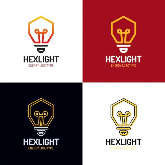 Idee logo ontwerp vector Premium Vector