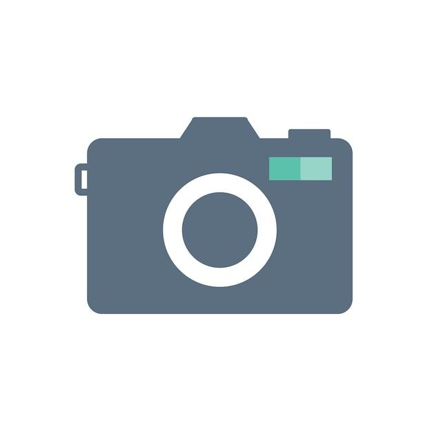 Illustratie van camera-icoon Gratis Vector