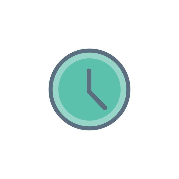 Illustratie van de klok Gratis Vector