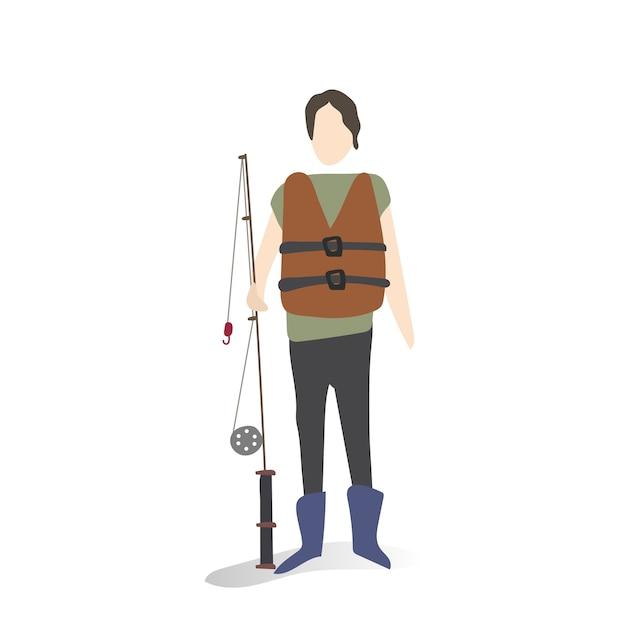 Illustratie van menselijke hobby's en activiteiten Gratis Vector