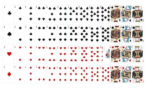 Illustratie van online gokken Gratis Vector