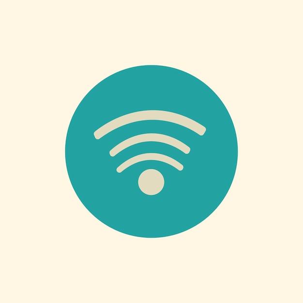Illustratie van wi-fi signaalvector Gratis Vector
