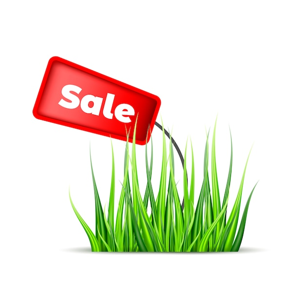 Illustratie verkoop Premium Vector