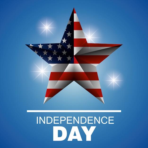Independence day usa ontwerp. Gratis Vector