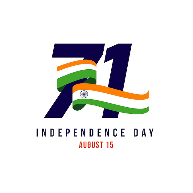 India independent day Premium Vector