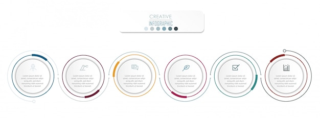 Infographic diagram ontwerp Premium Vector