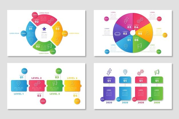 Infographic menselijke hulpbronnen Gratis Vector