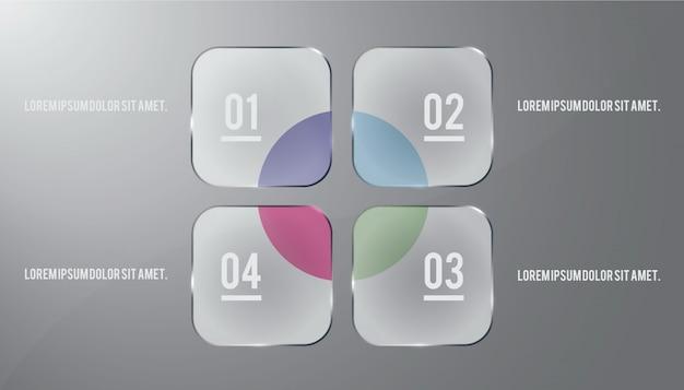 Infographic ontwerp Premium Vector