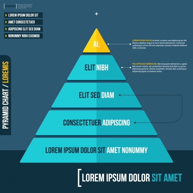 Infographic sjabloon ontwerp Gratis Vector