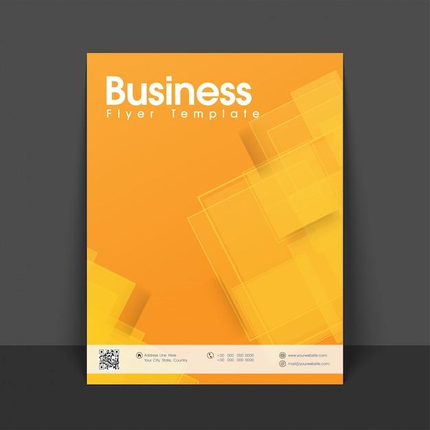 Informatie geometrische rapportage folder presentatie Gratis Vector