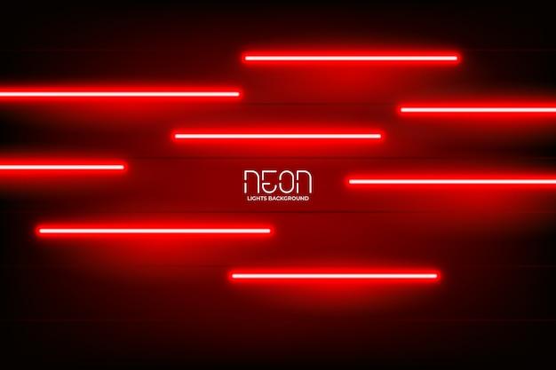 Intense neonlichtenachtergrond Gratis Vector