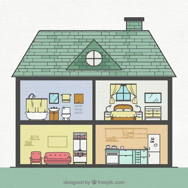 kamers in huis