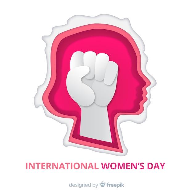 Internationale vrouwendag Gratis Vector