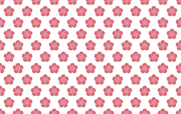 Japanse naadloze vector vintage patroon Gratis Vector
