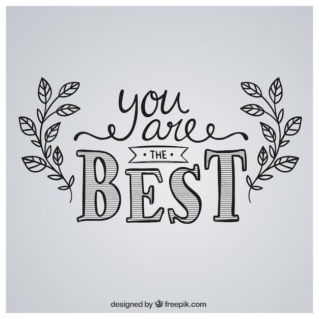 jij bent de beste afbeelding