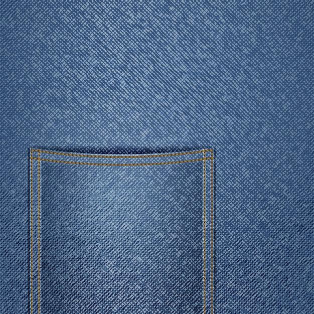 Jeans achtergrond Premium Vector