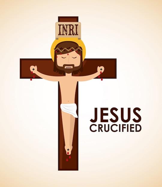 Jezus christus Premium Vector