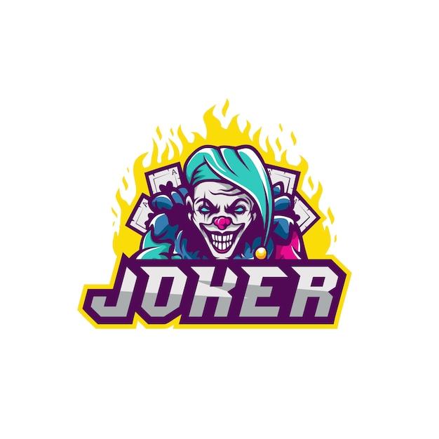 Jokerpremie voor squadegaming Premium Vector