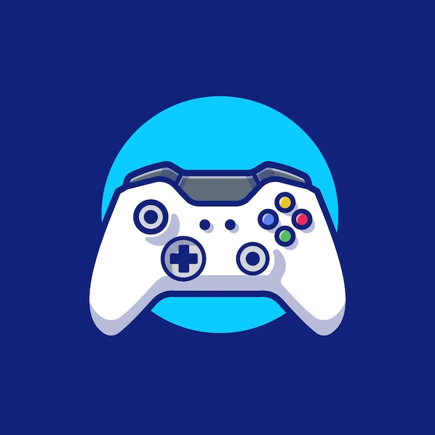 Joystick-spel. sporttechnologie Gratis Vector