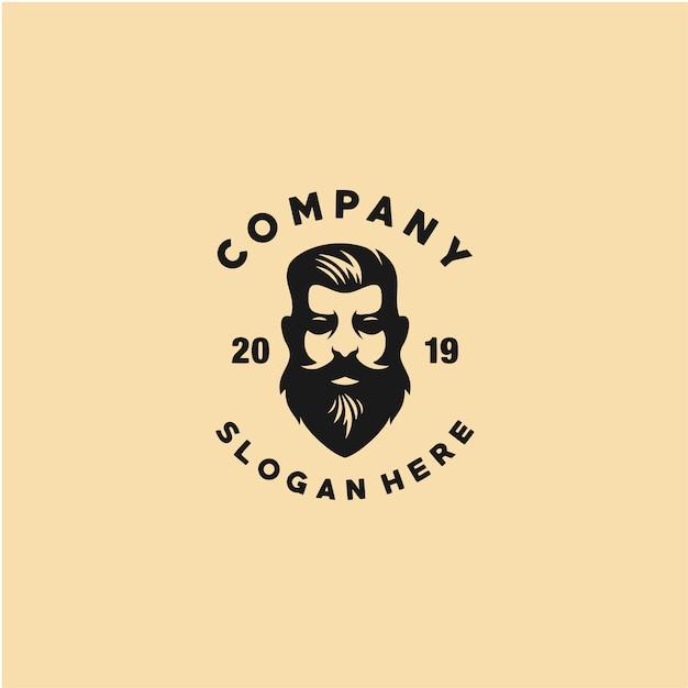 Kapper winkel logo sjabloon Premium Vector