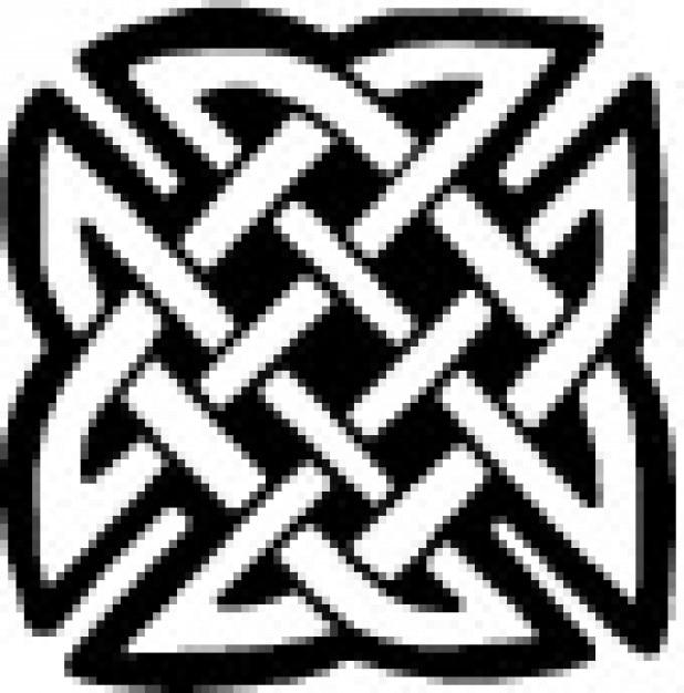 keltische platte knoop vector gratis download. Black Bedroom Furniture Sets. Home Design Ideas