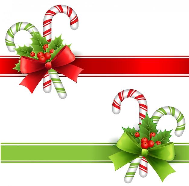 Kerst decoratie Premium Vector