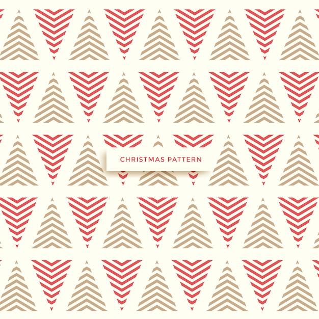 Kerst patroon, winter achtergrond Premium Vector