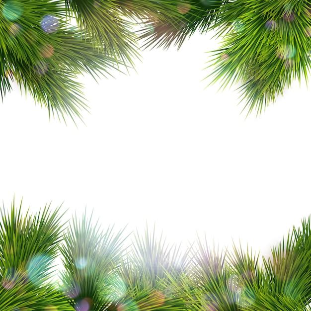 Kerst retro achtergrond. Premium Vector