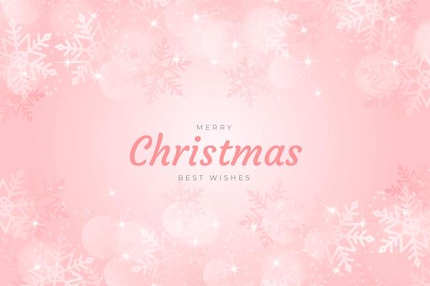 Kerst sprankelende achtergrond Gratis Vector